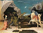 Uccello, St George and the Dragon
