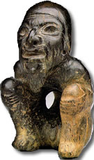 Olmec sculpture from Copyright Free Photo Library