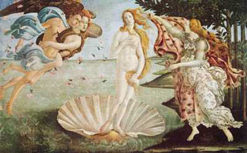 The Birth of Venus, 1480